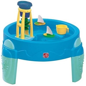 8. STEP2 WATER WHEEL ACTIVITY PLAY TABLE