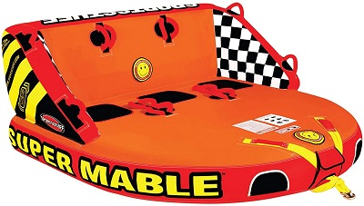 9. Sportsstuff Super Mable | 1-3 Rider Towable Tube