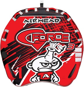 6. Airhead G-Force | 1-4 Rider Towable Tube for Boating