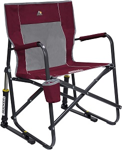 7. GCI Outdoor Freestyle Rocker Portable Folding Rocking Chair