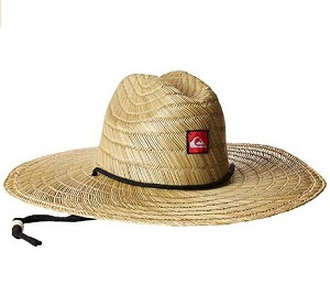 9. Quiksilver Men's Pierside Straw Hat