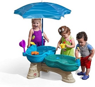 4. STEP2 SPILL AND SPLASH WATER TABLE