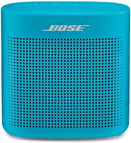 3. Bose 752195-0500 SoundLink Color Bluetooth Speaker II - Aquatic Blue