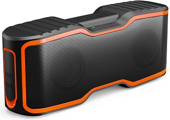 6. AOMAIS Sport II Portable Wireless Bluetooth Speakers 20W Bass Sound