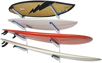5. StoreYourBoard Metal Surfboard Storage Rack