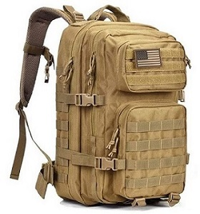 2. REEBOW GEAR MILITARY BACKPACK