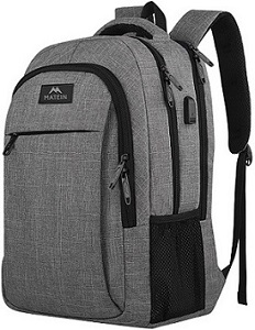 2. Matein Mlassic Travel Laptop backpack