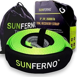 4. Sunferno Recovery Tow Strap