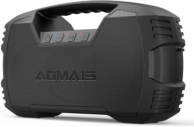4. AOMAIS GO Bluetooth Speakers, 40H Playtime