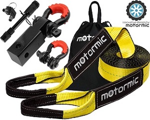 6. Motormic Tow Strap Recovery Kit