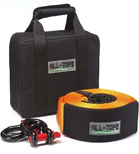 8. ALL-TOP Heavy Duty Tow Strap