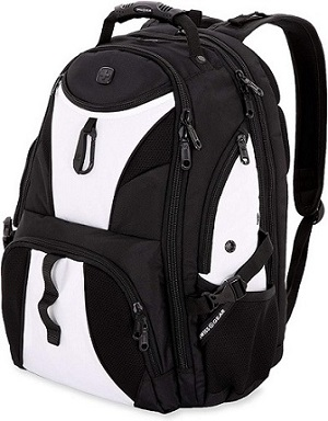 1. SWISSGEAR 1900 ScanSmart TSA Laptop Backpack
