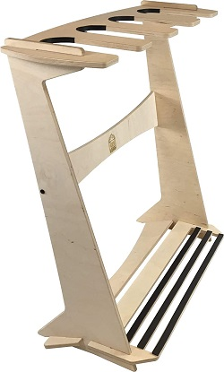 1. The Pacifica Freestanding Surfboard Display Rack