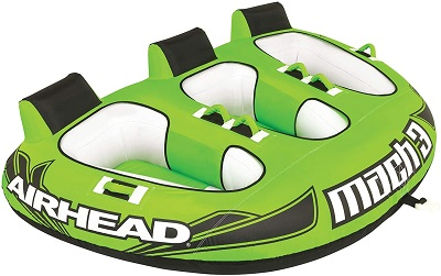 8. Airhead Mach | 1-3 Rider Towable Tube for Boating
