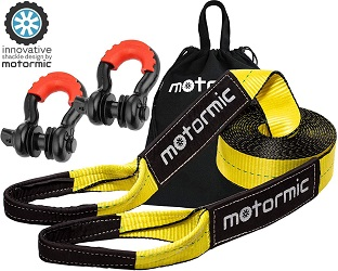 7. Motormic Tow Strap Recovery Kit