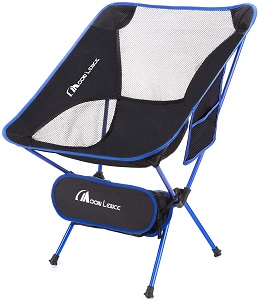 10. MOON LENCE Outdoor Ultralight Portable Folding Chairs