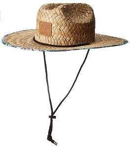 8. Quiksilver Men's Outsider Straw Sun Protection Hat