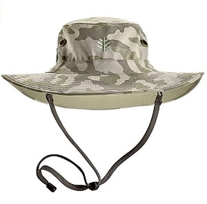 3. Coolibar UPF 50+ Men's Leo Shapeable Wide Brim Hat