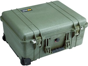 5. Pelican 1560 Case With Foam (Orange)