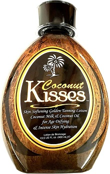 2. Ed Hardy Coconut Kisses Golden Tanning Lotion