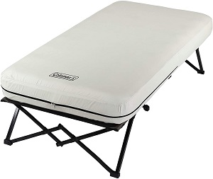 5. Coleman Camping Cot, Air Mattress, and Pump Combo