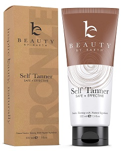 9. Self-Tanner with Organic & Natural Ingredients, Tanning Lotion