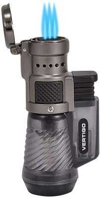 4. Vertigo by Lotus Cyclone Triple Torch Cigar Lighter