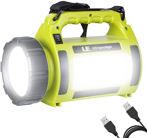 2. LE Rechargeable LED Camping Lantern, 1000LM