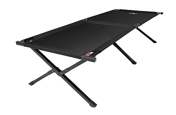 6. TETON Sports Adventurer Camp Cot; Folding Cot Great for Car Camping