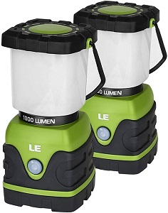 3. LE LED Camping Lantern, Battery Powered LED