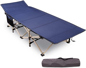7. REDCAMP Folding Camping Cots for Adults Heavy Duty