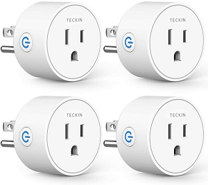 8. Smart Plug Compatible with Alexa Google Assistant for Voice Control