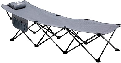 8. Folding Camping Cot Portable Sleeping Bed