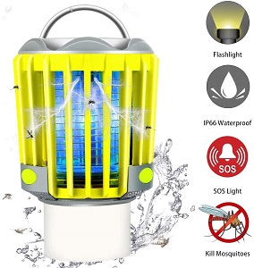 8. RUNACC Camping Bug Zapper LED Flashlight