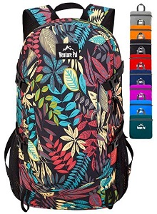 7. Venture Pal 40 L Lightweight Packable Waterproof Travels and Hiking Backpack