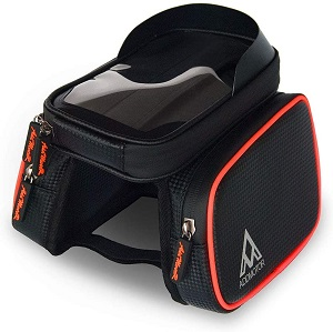 1. Addmotor Bike Phone Mount Bag Waterproof Universal Cycling Bicycle Frame Bags