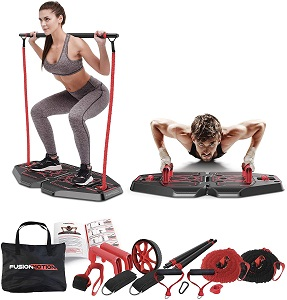 2. Fusion Motion Portable Gym with 8 Accessories