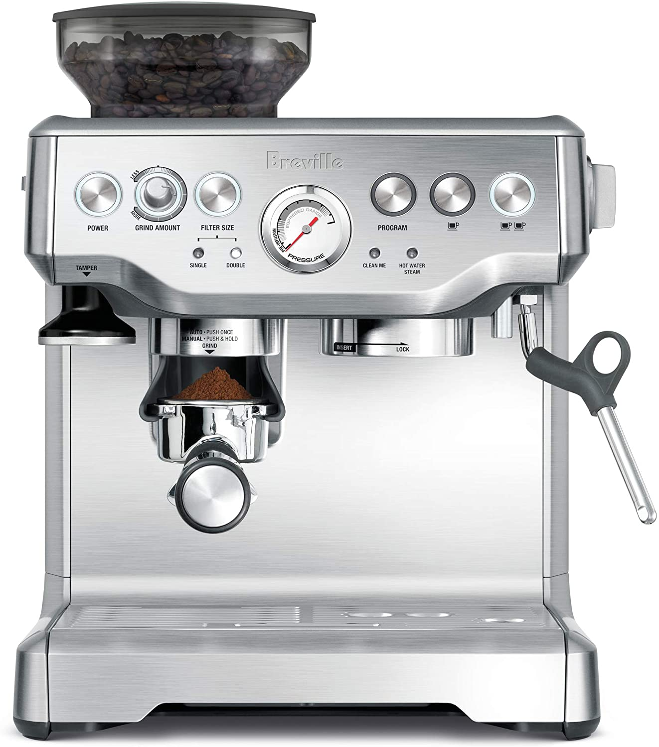 2. Breville the Barista Express Espresso Machine