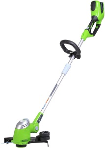 10. Greenworks String trimmer.