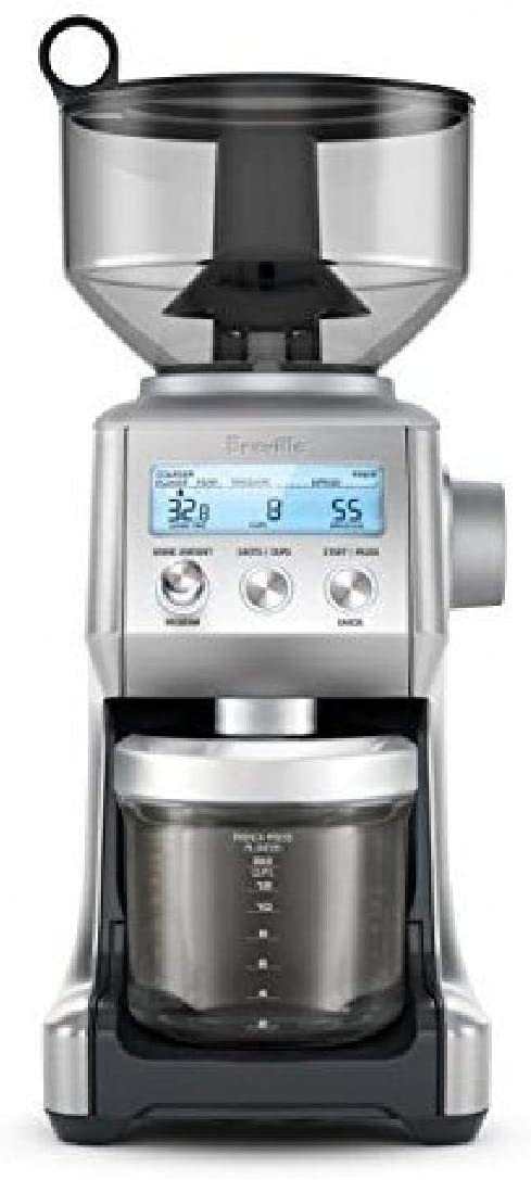 7. Breville BCG820BSSXL The Smart Grinder Pro Coffee Bean Grinder