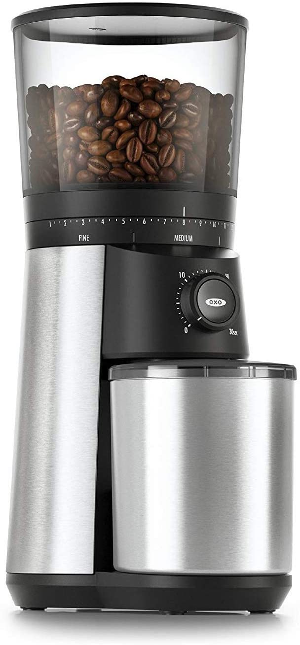 9. OXO BREW Conical Burr Coffee Grinder