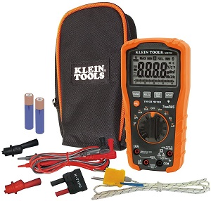 2. Klein Tools MM700 Multimeter, Electrical Tester is Autoranging