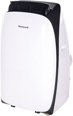 8. Honeywell Black and white portable air conditioner- 1000 BTU