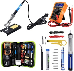 8. Anbes Soldering Iron Kit 60W Adjustable Temperature