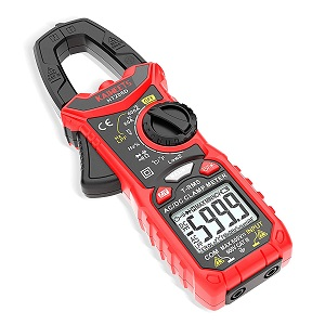 3. KAIWEETS Digital Clamp Meter T-RMS 6000 Counts, Multimeter Voltage Tester Auto-ranging