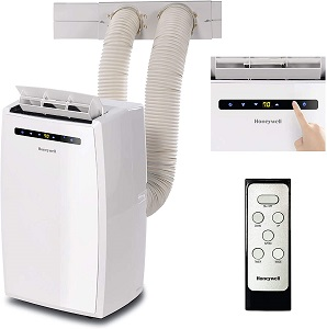 6. Honeywell Dual portable air conditioner- white