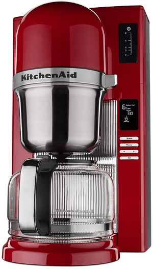 4. Kitchenaid kcm0802er pour over coffee brewer