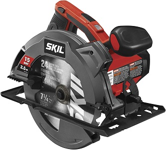 7. Skil 5280-01 15-amp 7-1/4-inch circular saw with single beam laser guide