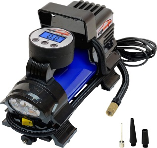 06. EPAuto 12V DC Portable Air Compressor Pump, Digital Tire Inflator