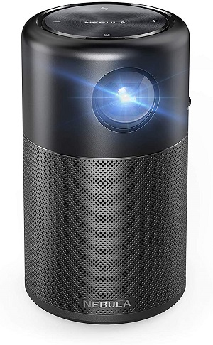 02.Anker Nebula Capsule, Smart WiFi Mini Projector